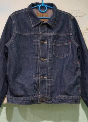 Джинсовая куртка на мальчика 9-10 лет
