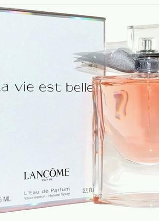 Женская туалетная вода La Vie Est Belle Lancome 100 мл