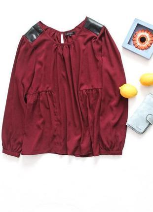 Блузочка с длинным рукавом большого размера 5xl