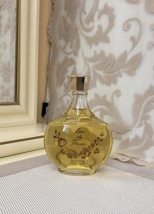 Винтажные духи nina ricci eau de fleurs, тв 200 мл, оригинал