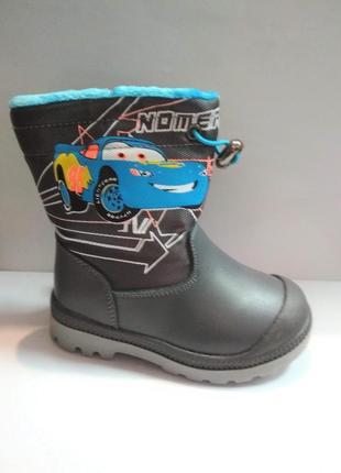 Детские зимнии термо-ботинки 23-27