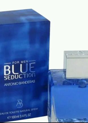 Мужская туалетная вода Antonio Banderas BLUE SEDUCTION for men 10