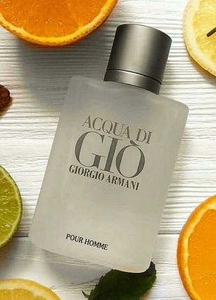Мужская туалетная вода Giorgio Armani Acqua di Gio Pour Homme 100