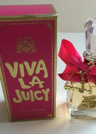 Juicy Couture Viva la Juicy_Оригинал EDP_5 мл затест парф.вода