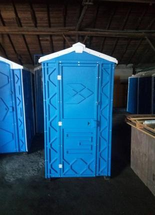 Биотуалет мобильный (туалетная кабина) для дачи и дома