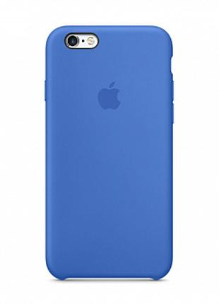 Чехол Apple Silicone Case for iPhone 6/6S Tahoe Blue
