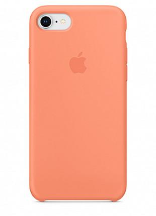 Чехол Apple Silicone Case for iPhone 7/8 Peach