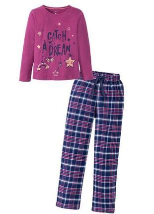 Детская пижама для девочки lupilu 98/104