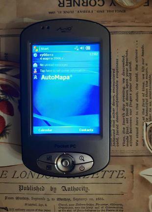 GPS навигатор MiTAC Mio P350