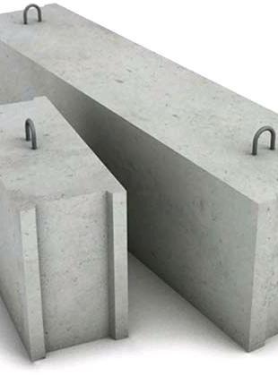 Блоки фундаментные 3,4,5,6. Б/у