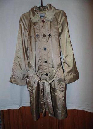 Плащ тренч пальто mango mng оригинал новый размер l