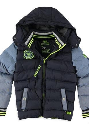 Куртка зимняя подростковая cars jeans kerrick на 16 лет