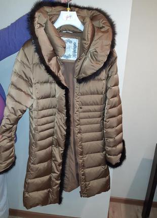 Пальто зимнее итальянское