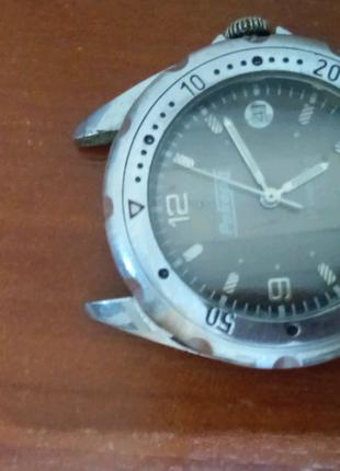 Часы рекорд 17 камней механические рабочие наручные часы