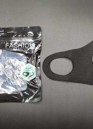 Тканевая маска fashion с клапаном, неопрен