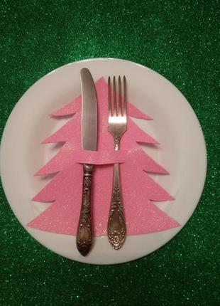 Чехол для столовых приборов. handmade. новый год рождество под...