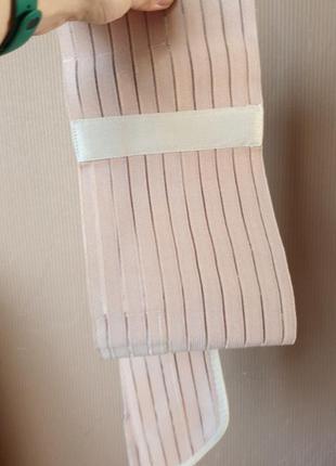 Бандаж до и послеродовой с ребрами жёсткости пористый, тип 114