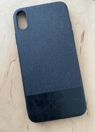 Чехол пластиковый iphone xs max