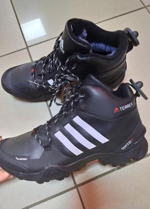 Зимние мужские ботинки спорт теплые