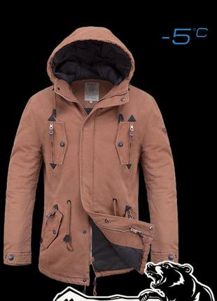 Куртка парка биопух braggart parka 4003a демисезон