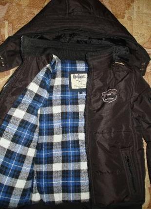 Куртка для мальчика Lee Cooper 6-8л.
