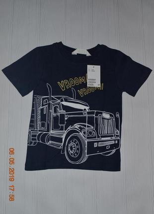 Нові футболки h&m розм. з 92 по 140 в наявності
