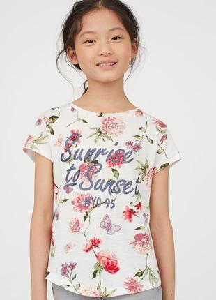 Нові футболки h&m розм. 140, 152, 164