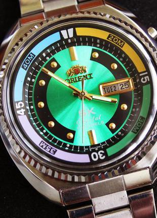 Часы  ориент orient sea king большие