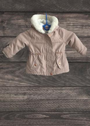 Детская демисезонная куртка george, (6-9m/рост 68-74 см)