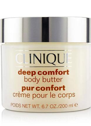 Крем - масло для тела deep comfort 200 ml