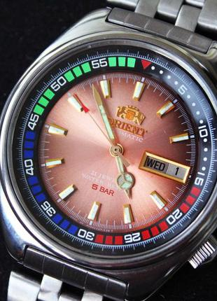 Часы ориент orient 21 jewels редкий циферблат