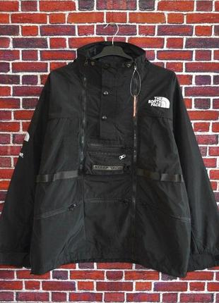 Куртка supreme x the north face steeptech black