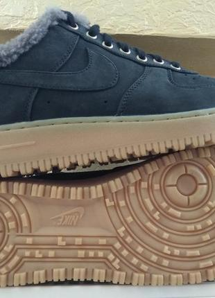 Зимние ботинки nike air force 1 premium winter zoom m2k monarc...