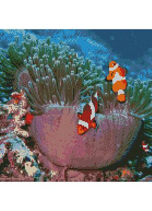 """Алмазная мозаика """"Океанические рыбки"""""""