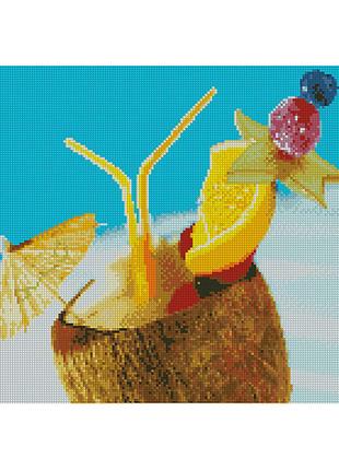 """Алмазная мозаика """"Гавайский коктейль"""""""