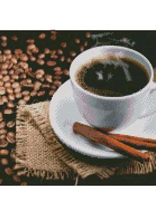 "Алмазная мозаика ""Кофе с корицей"""