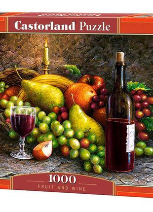 """Пазлы """"Фрукты и вино"""", 1000 элементов"""