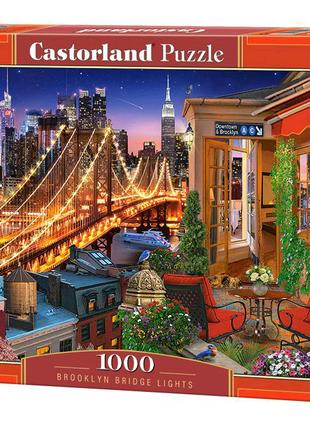 """Пазлы """"Огни Бруклинского моста"""", 1000 элементов"""