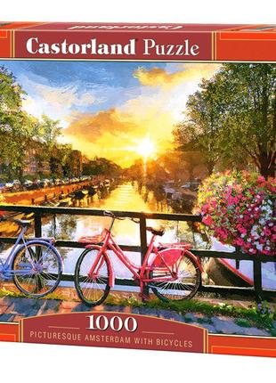 """Пазлы """"Велосипеды в Амстердаме"""", 1000 элементов"""