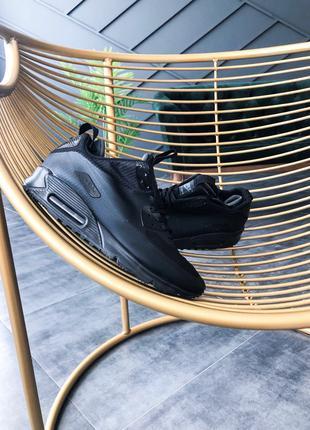 Nike Air Max Mid Winter мужские зимние термо кросовки -15c