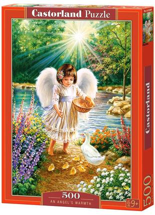 "Пазлы ""Ангел, кормящий утят"", 500 элементов"