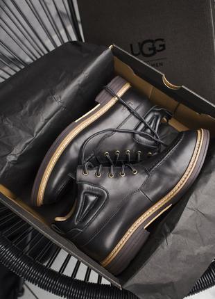 Классические мужские брендовые ботинки UGG Australia  натур кожа