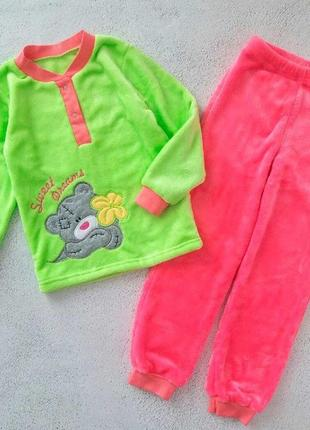 """Пижама для девочки""""мишка тедди"""""""