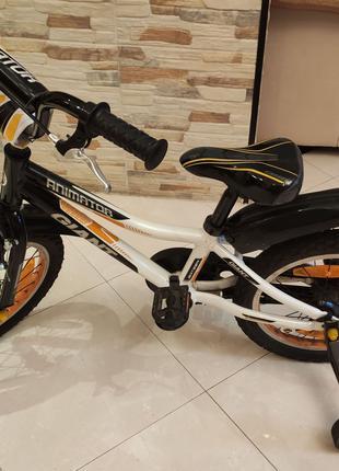 Детский велосипед Giant ANIMATOR 16 orange, 4-6 лет