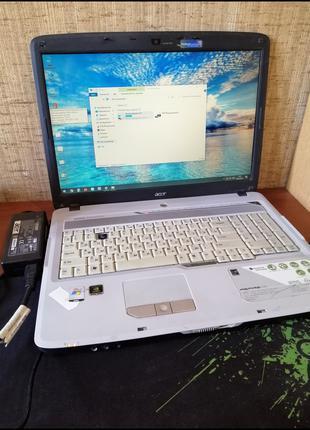 "Ноутбук ACER 7720ZG/17""/T7700 2,4Gh/4Gb/128SSD/Nvidia8400MG128Mb"