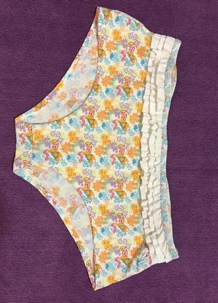 Очень красивые и стильные брендовые плавки от купальника в цве...
