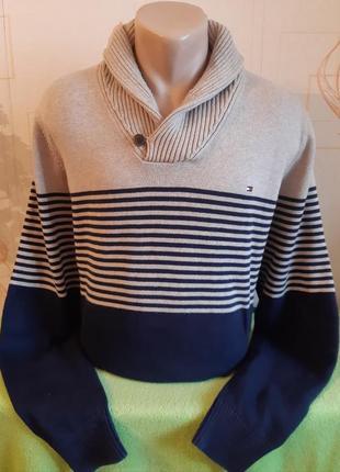Тёплый свитер tommy hilfiger