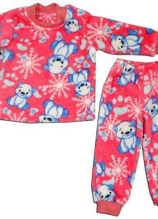 """Пижама ясельная для девочки """"мишка"""""""