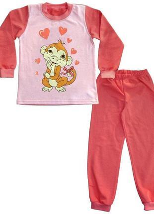 """Пижама для девочки """"мартышка"""""""
