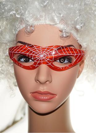 Светящиеся мигающие LED очки Человека паука Spider-man подарок